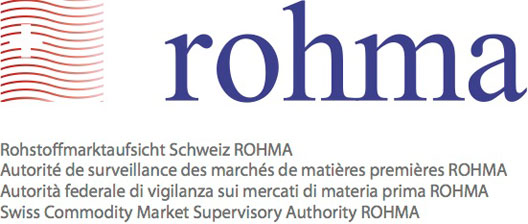 ROHMA - Welcome to the Swiss Commodity Market Supervisory Authority